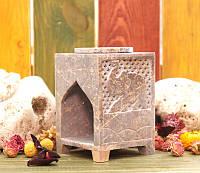 Аромалампа каменная, квадратная #10