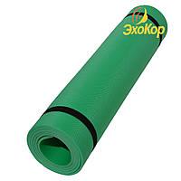 Коврик спортивный (каремат) Yoga Lotos 5 мм (однослойный, рифление с одной стороны)