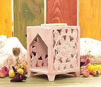 Аромалампа каменная, квадратная #11