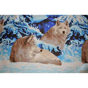 Постельное белье Волки бязь ТМ Царский дом  (Евро), фото 2