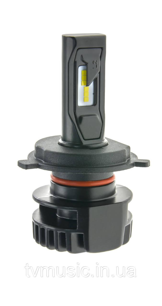 Светодиодная лампа CYCLON LED H4 Hi/Low 5000K 4000Lm CSP Type 15 V2