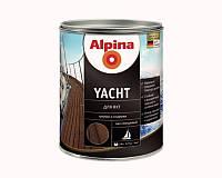 Лак алкид-уретановый ALPINA YACHT ГЕРМАНИЯ яхтовый глянцевый 0,75л