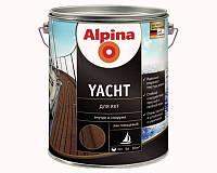 Лак алкид-уретановый ALPINA YACHT яхтовый, 5л