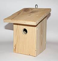 Гнездовье для синичек (синичник) 15х18х23 см