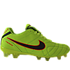 Бутсы футбольные Nike Tiempo салатовые