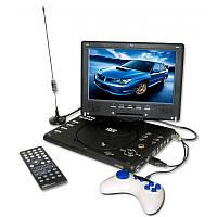 Портативный DVD Плеер 1289 USB Game TV 12,5 дюймов, фото 1