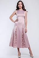 Красивое платье длиной миди