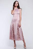 Красивое женское платье длиной миди, фото 2