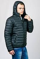Куртка мужская молодежная черная(остался только 42 размер)