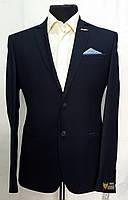 Деловой тёмно-синий мужской костюм Doni Ricce 2534
