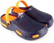 Сабо / Кроксы  женские  пляжные из ЭВА Jose Amorales Синий с оранжевым