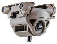 Адаптер для сошек FAB Defense поворотный, наклонный, на планку Пикатинни, коричневый