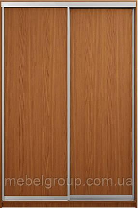 Шафа купе Стандарт 110*45*210 горіх світлий, фото 2