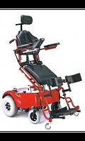 Кресло-коляска инвалидная электрическая с вертикализатором HERO 1  LY-EB103-220                арт. MT10818
