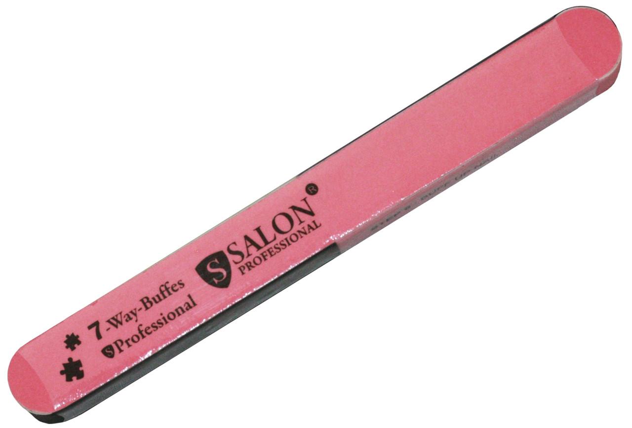Пилки-Бафи для нігтів SALON PROFESSIONAL (7 сторін)