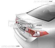 Спойлер кришки багажника Хонда Акорд 2008-2012 type S, ABS