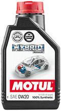 Масло MOTUL HYBRID 0W-20 1л (333101)