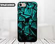 Силиконовый чехол для Samsung J510H Galaxy J5 (2016) (Зелёные осколки), фото 3