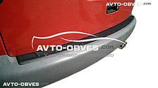 Накладка на задний бампер Volkswagen Caddy 2004-2010
