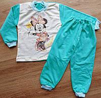 Детская пижама на байке Минни с эксклюзивным накатом имитация карандаша