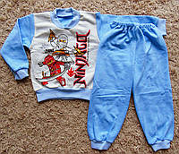 Детская тёплая пижама на байке Ниндзяго на мальчика