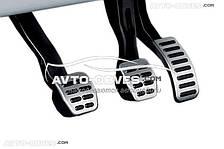 Накладки на педали для  Skoda Octavia Tour 1997 - 2010, МКПП (3шт)