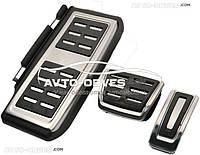 Накладки на педали для  Audi A3 седан 2012 - 2018, АКПП (3шт)