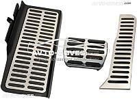 Накладки на педали для  Volkswagen Passat CC 2008 - 2012, АКПП (3шт)