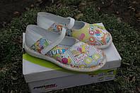 Сандалии  кожаные для девочки chicco 32 размер, фото 1