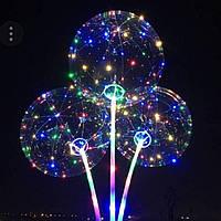 52. Воздушные мигающие шары, светящиеся светодиодные шарики оптом