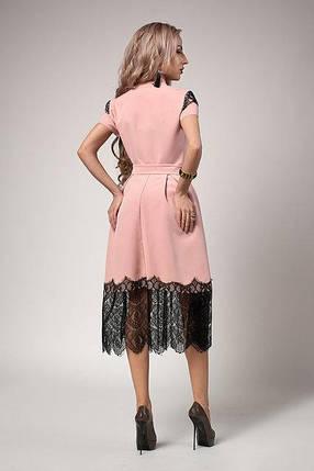 Платье мод 701-7,размер 44,46,48 желтое, фото 2
