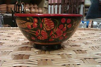 Декоративна тарілка з розписом, ручна робота
