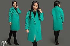 Пальто в стиле oversize из кашемира