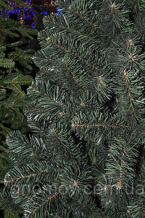 Елка искусственная на нитях зеленая 1.40 метра Европейская, фото 2