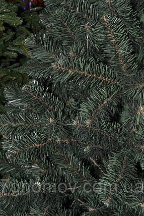 Елка искусственная на нитях зеленая 1.10 метра Европейская, фото 2