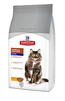 Сухой корм длякошки от комков шерсти Science Plan™ Feline Mature Adult 7+ Hairball Control Курица0,3 кг