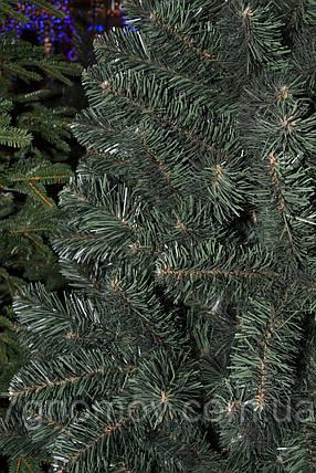 Елка искусственная на нитях зеленая 2.50 метра Европейская, фото 2