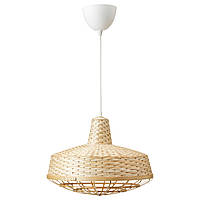 """ИКЕА """"ИНДАСТРИЕЛЛ"""" Подвесной светильник, бамбук, 40 см."""