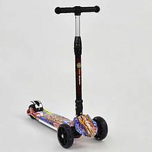 Трехколесный складной самокат Best Scooter