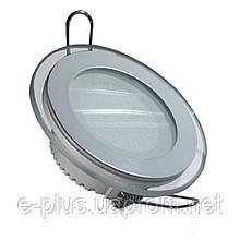 Светодиодный светильник Feron AL2110 12Вт встраиваемый со стеклянным обрамлением