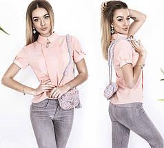 Блуза с коротким рукавом, фото 3