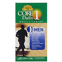 Country Life, Core Daily, Мультивитамины для мужчин, 60 таблеток, фото 1