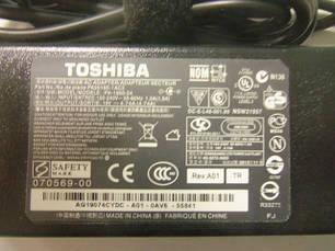Блок питания для ноутбука toshiba