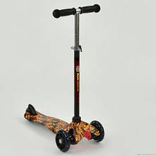 Триколісний світиться самокат Best Scooter