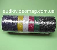 Набор цветной изоленты (10 шт. по 11 метров)