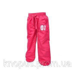 Штаны на хлопковой подкладке (розовые), PIDILIDI BUGGA