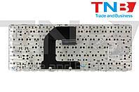 Клавиатура HP EliteBook 8460P; 8460w черная с черной рамкой, без трекпоинта RU/US