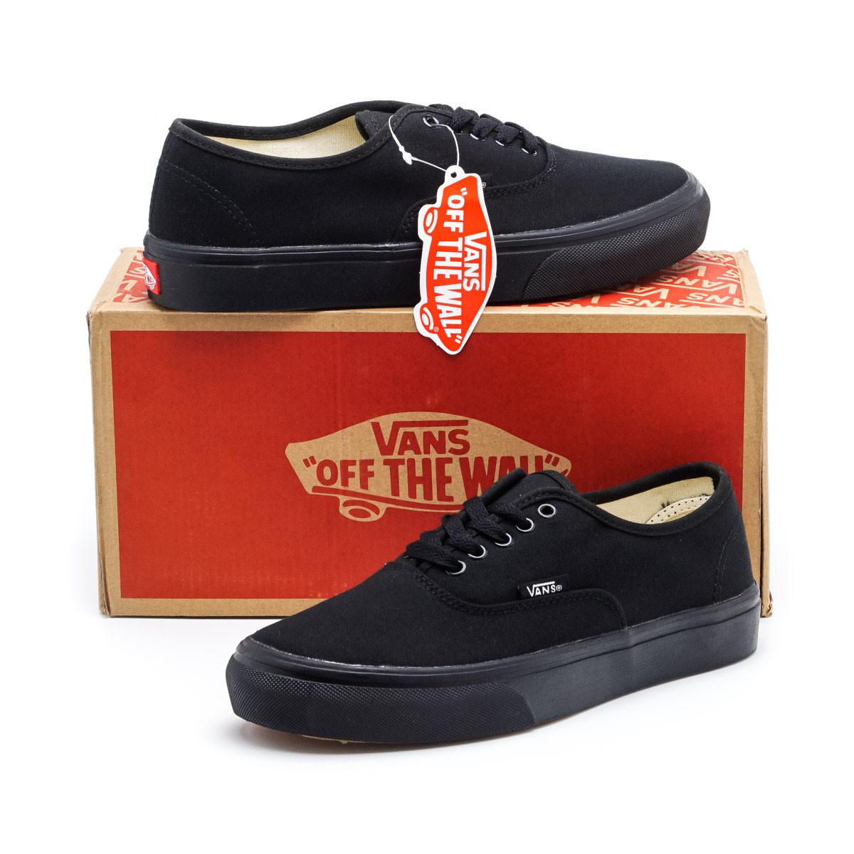 Мужские кеды Vans Authentic Black