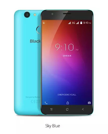 Смартфон Blackview E7S 2\16Gb sky blue (бирюзовый)