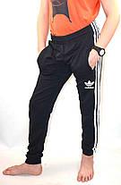 Брюки спортивные Adidas  под манжет - юниор, фото 2